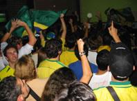 Torcida brasileira na Austrália