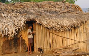 Casa das aldeias perto de Dili