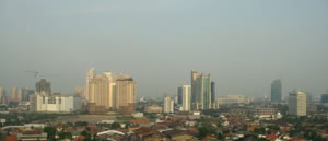 Jacarta - capital da Indonésia