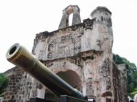 A'Famosa - ruínas do forte português construído por Afonso de Albuquerque em 1511