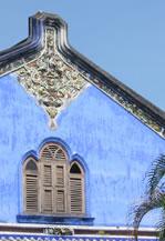 Detalhe de uma casa em Penang