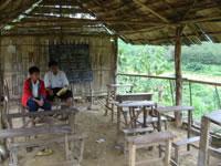 Escola sem as paredes laterais
