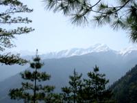 Morros de neve em Langtang