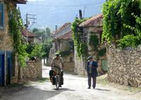 Vilas no caminho para o Mediterrâneo