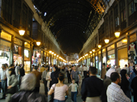 Mercado em Damasco