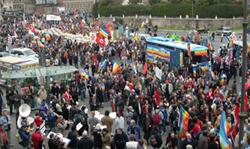 Um milhão de pessoas na maior manifestação da Europa