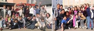 Algumas escolas visitadas na França