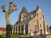 Igreja na Normandia