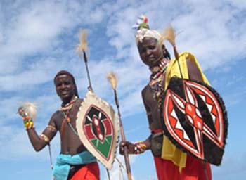 Massais Lelelit e Lekuchulah em Mombassa