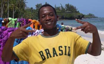 Raphael fa do Brasil